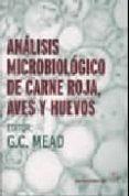 ANALISIS MICROBIOLOGICO DE CARNE ROJA AVES Y HUEVOS - 9788420011288 - VV.AA.