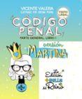 CÓDIGO PENAL. VERSIÓN MARTINA - 9788430976188 - VICENTE VALERA