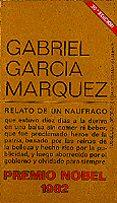 RELATO DE UN NAUFRAGO (25ª ED.) - 9788472230088 - GABRIEL GARCIA MARQUEZ