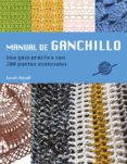 MANUAL DE GANCHILLO - 9789089983688 - SARAH HAZELL