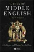 A BOOK OF MIDDLE ENGLISH (3RD ED.) - 9781405117098 - J. A. BURROW