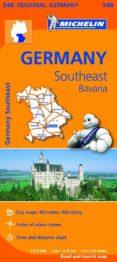 MAPA REGIONAL GERMANY SOUTHEAST BAVARIA - 9782067183698 - VV.AA.