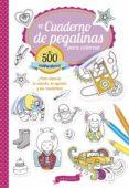 MI CUADERNO DE PEGATINAS PARA COLOREAR - 9788416641598 - VV.AA.