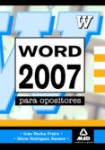 WORD 2007 PARA OPOSICIONES AVANZADO - 9788467635898 - VV.AA.