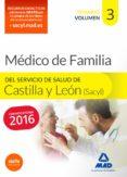 MEDICO DE FAMILIA DEL SERVICIO DE SALUD DE CASTILLA Y LEON CONVOCATORIA 2015 - 9788490934098 - VV.AA.