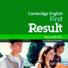 cambridge english: first result: fce result cl audio cd ed 2015 (first certificate)-9780194512008