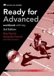 Descarga gratuita de libros electrónicos para móviles en formato txt READY FOR ADVANCED 3RD EDITION WORKBOOK WITH KEY PACK de