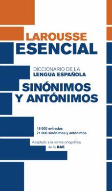 Eldeportedealbacete.es Diccionario Esencial De Sinónimos Y Antónimos (3ª Ed.) Image
