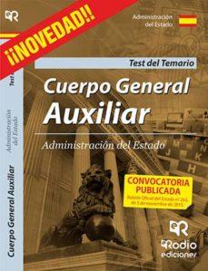 Titantitan.mx Cuerpo General Auxiliar De La Administración Del Estado. Test Del Temario Image