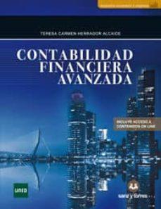 Libros gratis en línea para descargar ipad. CONTABILIDAD FINANCIERA AVANZADA de TERESA CARMEN HERRADOR ALCAIDE 9788417765408 (Spanish Edition)