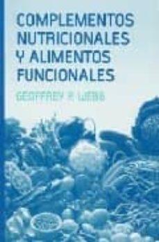 Foro de libros electrónicos descargar ita COMPLEMENTOS NUTRICIONALES Y ALIMENTOS FUNCIONALES de GEOFFREY P. WEBB
