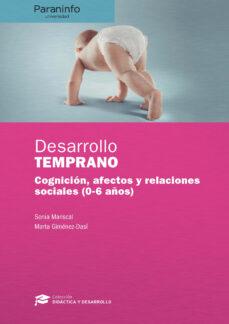 Descargar DESARROLLO TEMPRANO gratis pdf - leer online