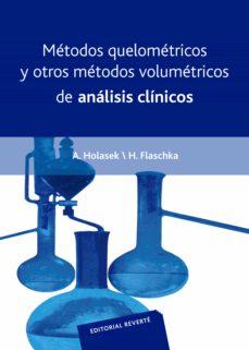 metodos quelometricos y otros metodos volumetricos de analisis cl inicos-a. holasek-9788429118308