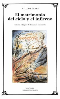 el matrimonio del cielo y el infierno-william blake-9788437620008