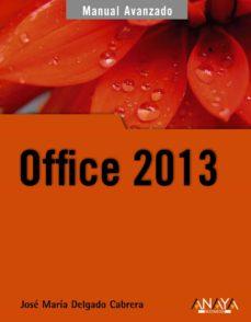 Descargar OFFICE 2013 gratis pdf - leer online