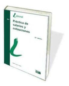 práctica de salarios y cotizaciones-isabel lópez y lópez-9788445434208