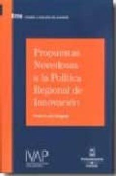 Inmaswan.es Propuestas Novedosas A La Politica Regional De Innovacion Image