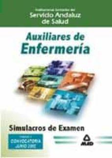 Titantitan.mx Auxiliar De Enfermeria Del Servicio Andaluz De Salud: Simulacros De Examen Image