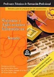 Relaismarechiaro.it Cuerpo De Profesores Tecnicos De Formacion Profesional: Temario D E Sistemas Y Aplicaciones Informaticas Image