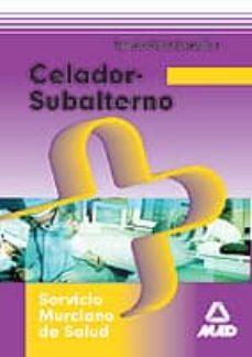 Chapultepecuno.mx Celador-subalternodel Servicio Murciano De Salud. Temario Image