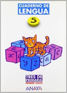 Titantitan.mx Lengua, Cuaderno 5 (2º Primaria) (Ed. 2004) Tres De Primaria Image