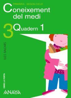 Cdaea.es Coneixement Del Medi 3 (Quadern 1) (Illes Balears) Image
