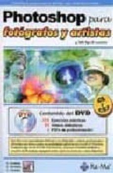 Geekmag.es Photoshop Para Fotografos Y Artistas (Y Todo Tipo De Usuarios, Ve Rsiones Cs2 Y Cs) (Incluye Dvd) Image
