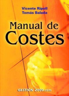Concursopiedraspreciosas.es Manual De Costes (2ª Ed.) Image