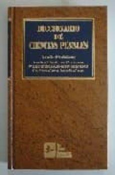 diccionario de ciencias penales: (criminologia, derecho penal, de recho penitenciario y derecho procesal)-9788489493308