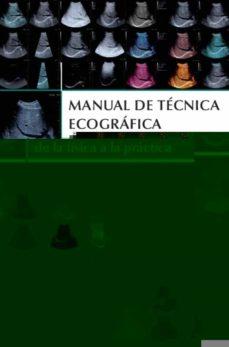 Descargar mp3 gratis audiolibros MANUAL DE TECNICA ECOGRAFICA