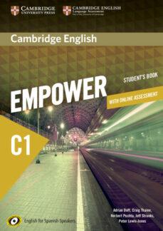 Descargar CAMBRIDGE ENGLISH EMPOWER C1 STUDENT WITH ONLINE ASSESSMENT AND PRACTICE gratis pdf - leer online