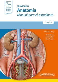 Descargas gratuitas de libros de ipad. PROMETHEUS: ANATOMIA: MANUAL PARA EL ESTUDIANTE (2ª ED.) 9788491103608