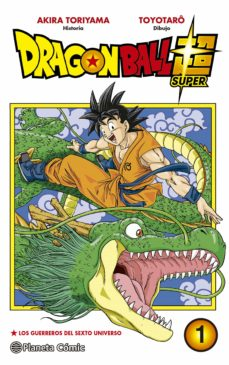 dragon ball super nº01-akira toriyama-9788491460008