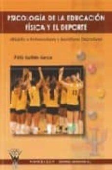 psicología de la educación física y el deporte (ebook)-felix guillen garcia-9788498234183
