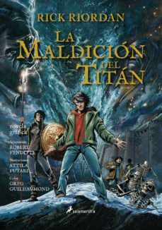 Descargar libros de google gratis LA MALDICION DEL TITAN (NOVELA GRAFICA PERCY JACKSON Y LOS DIOSES DEL OLIMPO III) 9788498389708 de RICK RIORDAN PDF iBook