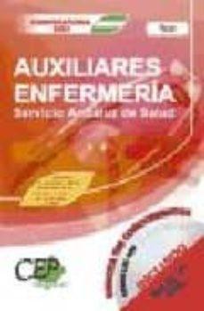 Debatecd.mx Test Oposiciones Auxiliares De Enfermeria. Servicio Andaluz De Sa Lud (Sas) Image