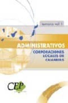 Eldeportedealbacete.es Temario Vol. I. Oposiciones Administrativos Corporaciones Locales De Canarias Image
