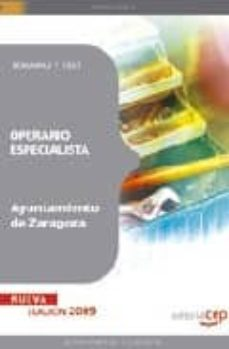 Inmaswan.es Operario Especialista Ayuntamiento De Zaragoza: Temario Y Test Image