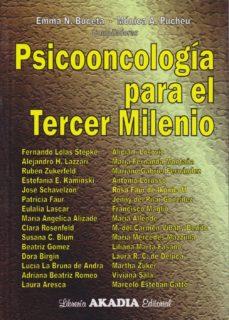 Descargar pdfs de libros de texto. PSICOONCOLOGÍA PARA EL TERCER MILENIO de E. BUCETA, M. PUCHES