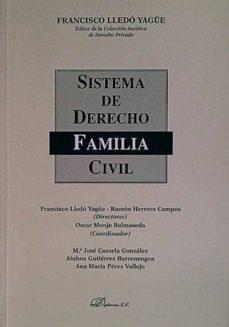 Ironbikepuglia.it Sistema De Derecho Civil. Derecho De Familia Image