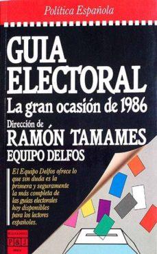 GUÍA ELECTORAL - RAMÓN TAMAMES | Triangledh.org