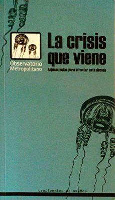 Relaismarechiaro.it La Crisis Que Viene Image