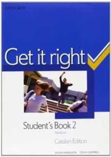 Emprende2020.es Get It Right 2: Student S Book (Catalan Ed.) Image