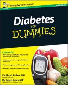 Descarga gratuita de libros electrónicos epub DIABETES FOR DUMMIES 9780470977118 (Literatura española)