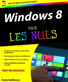windows 8 pour les nuls (ebook)-andy rathbone-9782754046718
