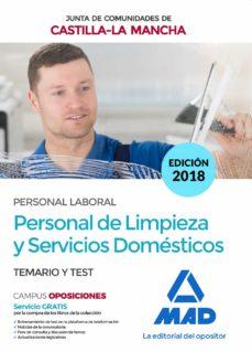 personal de limpieza y servicios domésticos (personal laboral de la junta de comunidades de castilla-la mancha)-9788414221518