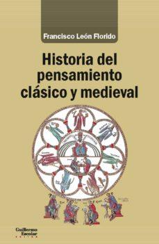 historia del pensamiento clásico y medieval-francisco leon florido-9788417134518