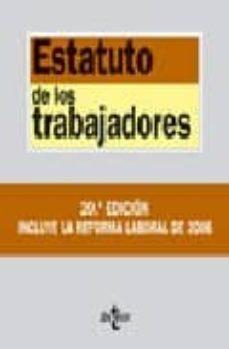 Canapacampana.it Estatuto De Los Trabajadores (Textos Legales Nº 30) Image