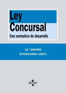 ley concursal (13ª ed.): con normativa de desarrollo-9788430971718