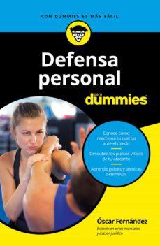 defensa personal para dummies (ebook)-oscar fernandez-9788432905018